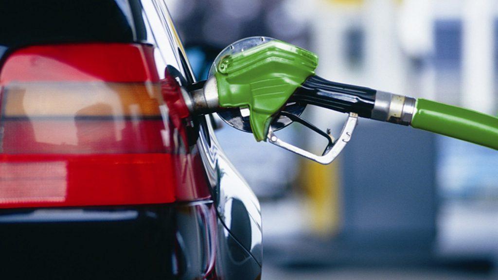 Automobilio degalų pylimas