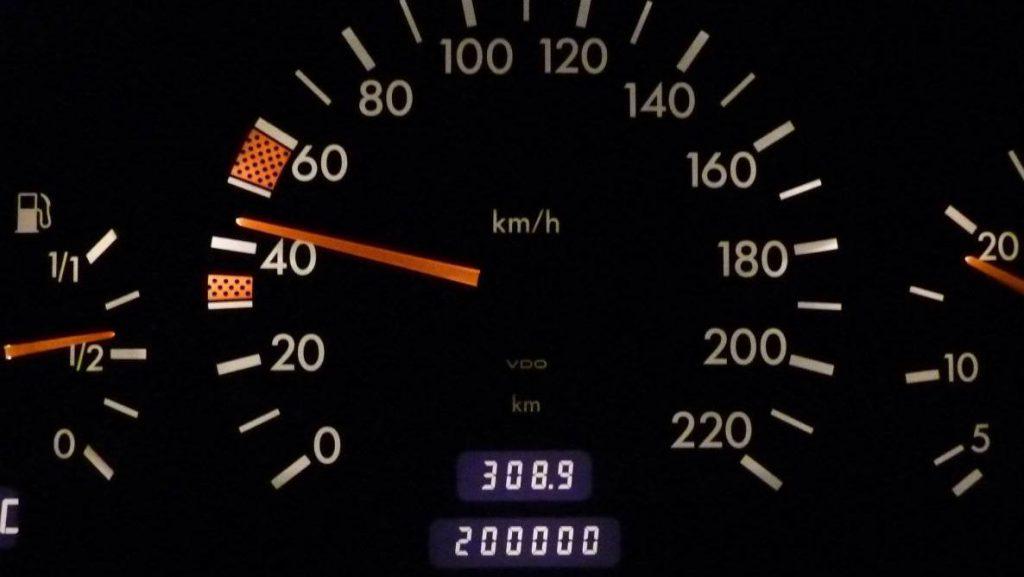 Automobilio spidometras
